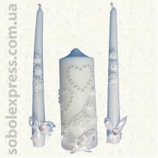 Свадебные свечи (набор)
