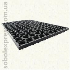 Коврик придверный Крупные Соты 40х60х2,5 см