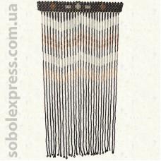 Деревянная штора Бусы 40-01