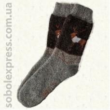 Носки пуховые мужские 06