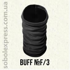 Бафф трикотажный утепленный черный F/3