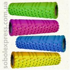 Валик для йоги масажний EVA 29.5 / 8 см