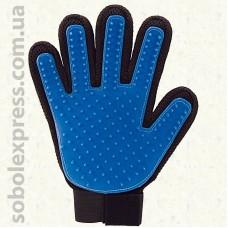 Перчатка для вычесывания шерсти Котов и Собак -01