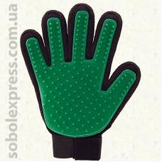 Перчатка для вычесывания шерсти Котов и Собак -03